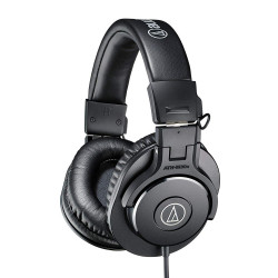 Audio-Technica, Monitor Headphones, black, ATH-M30X image here