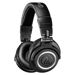 Audio-Technica, Consumer Wireless Over-Ear Headphones, black, ATH-M50XBT image here