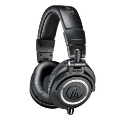 Audio-Technica, Monitor Headphones, black, ATH-M50X image here