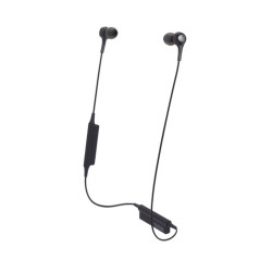 Audio-Technica, Wireless In-ear Headphones with In-line Mic & Control, black, ATH-CK200BT BK image here