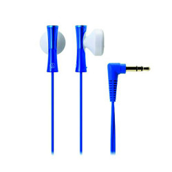 Audio-Technica, Colorful and Stylish Earphones, blue, ATH-J100 BL image here