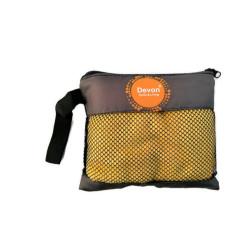 Devon, Microfiber Hand Towel, Yellow, DEVONMCTWLHAND201903YLW image here