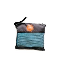 Devon, Microfiber Hand Towel, Aqua Blue, DEVONMCTWLHAND201910AQU image here