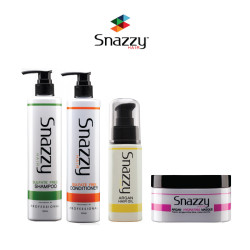 Snazzy 1Shamp 1 Condi 1 Hair Mask 1 Argan Oil 300ml,ASSTD Color,Snz1S1C1HM1AO image here