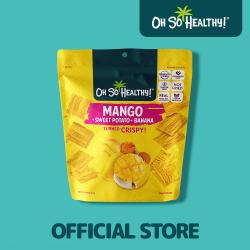 Oh So Healthy,Fruit Crisps Mango Sweet Potato Banana 40g,Yellow,4806531960006 image here
