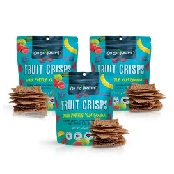 Fruit Crisps Guava Purple Yam Banana 40g Bundled Pack By 3,Teal,3-4806531960013 image here
