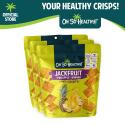 Fruit Crisps Jackfruit Pineapple Banana 40g Bundle Pack By 3,Lime Green,3-4806531960228 image here