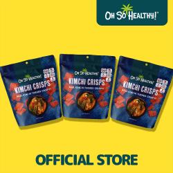 Kimchi Crisps 50g Bundled Pack By 3,Dark Blue,3-4806531960167 image here