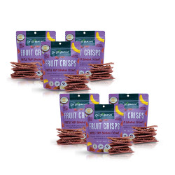 Fruit Crisps Purple Yam Banana Coconut 40g Bundled Pack By 6,Purple,6-4806531960020 image here