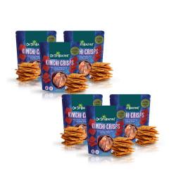 Kimchi Crisps 50g Bundle Pack By 6,Dark Blue,6-4806531960167 image here