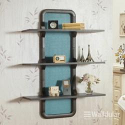 Décorganise, WALLDULAR DIY Wall Shelves Frame, Wenge, DÉCORGANISEWALLDULAR3FRAMEWENGE image here