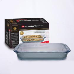 Royal King, 1.6 Liter Rectangular Baking Dish, Clear, RK 111 image here