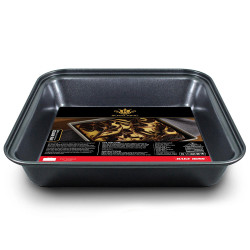 Royal King, 22cm Non-Stick Carbon Steel Square Pan, Black, RK 083 image here