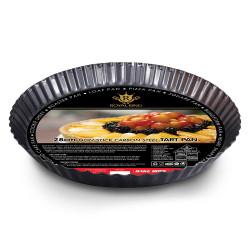 Royal King, 28cm Non-Stick Carbon Steel Tart Pan, Black, RK 082 image here