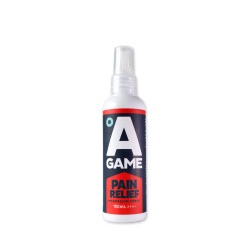 A-Game, Pain Relief Pocket size 100mL, Red, PR100 image here
