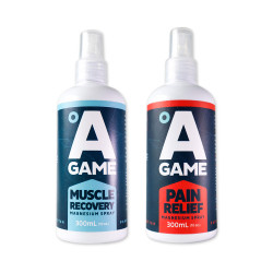 A-Game, Relentless, Red & Blue, RB2 image here