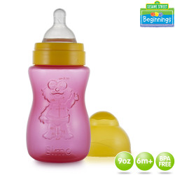 Sesame Beginnings 9oz Easy Grip Character Feeding Bottles image here