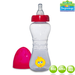 Sesame Beginnings 8oz Dumbbell Feeding Bottle image here