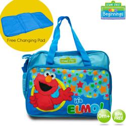 Sesame Street Beginnings Elmo Diaper Bags image here