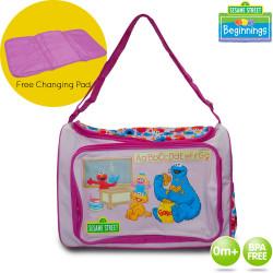 Sesame Street Beginnings Diaper Bags image here