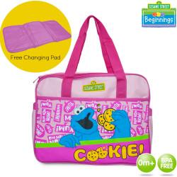Sesame Street Beginnings Cookie Diaper Bags image here