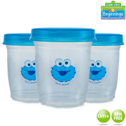 Sesame Beginnings 3 Pack Milk Storage image here