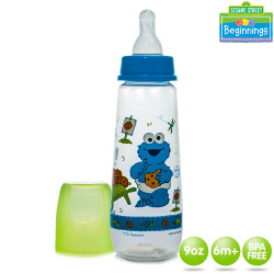 Sesame Beginnings 9oz Feeding Bottle image here