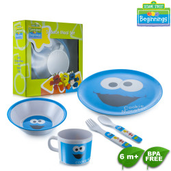 Sesame Beginnings 5pc Meal Set image here