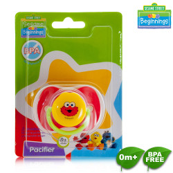 Sesame Beginnings Silicon Baglet Pacifier image here