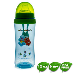 Sesame Beginnings Square Cup with Soft Spout image here