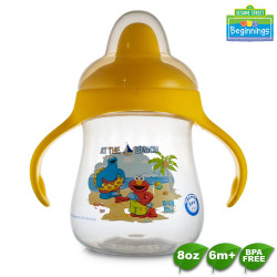 Sesame Beginnings 8oz Hard Spout with Handle image here