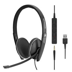 Sennheiser - SC165  ( 3.5 mm with USB adapter) image here