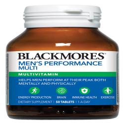 BLACKMORES MEN'S PERFORMANCE MULTI 50S image here