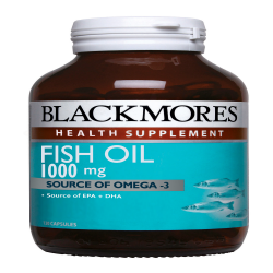 BLACKMORES FISH OIL 1000MG 30S image here