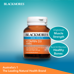 BLACKMORES VITAMIN D3 1000IU 60S image here