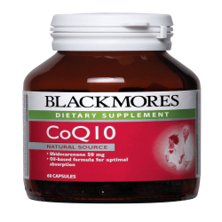 BLACKMORES CoQ10 50MG 60S image here