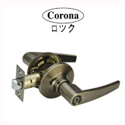 Corona Entrance Keyed Tubular Lever Lock image here