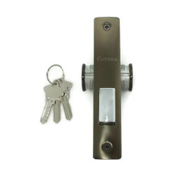 Corona Aluminum Door Lock Double Key image here