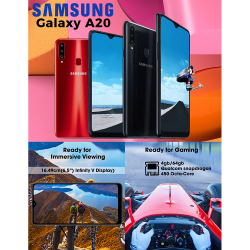 Samsung Galaxy A20S image here
