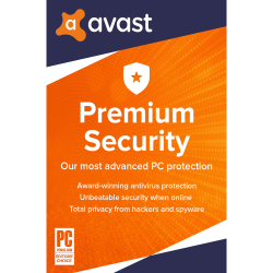 Avast Premium Security for Windows 1 PC (1 Year) image here