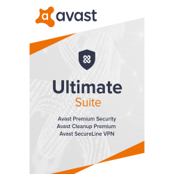 Avast Ultimate (Multi-Device, up to 10 connections) (1 Year) image here