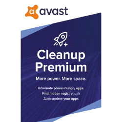 Avast Cleanup Premium (1 PC, 1 Year) image here