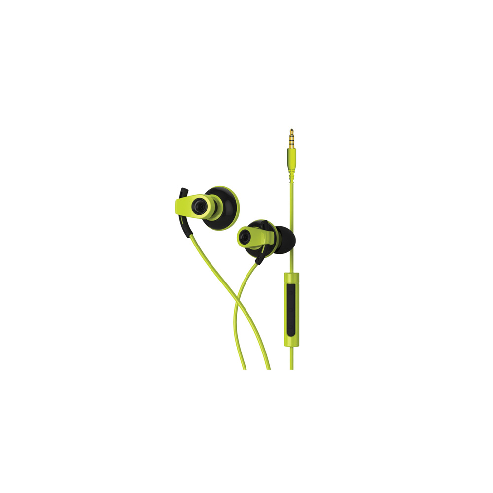 BLUEANT PUMPBOOST WIRED SPORTS EARBUDS (GREEN) image here