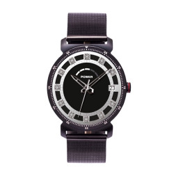 Koala Fuzion Smartwatch Stainless Steel Collection in Jazz Black image here