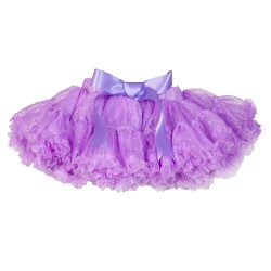 BABY FASHIONISTAS PETTISKIRT WITH GLITTERY PURPLE image here
