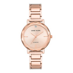 ANNE KLEIN WOMEN'S DIAMOND WATCH | ROSE GOLD - AK 3278RGRG image here