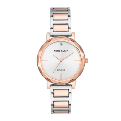 ANNE KLEIN WOMEN'S MINERAL CRYSTAL LENS WATCH | ROSE GOLD - AK 3278RGRG image here