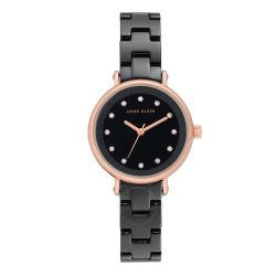 ANNE KLEIN WOMEN'S CERAMIC WATCH | BLACK - AK 3312BKRG image here