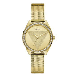 GUESS WOMEN'S GOLD TONE CASE STAINLESS STEEL  WATCH - W1142L2 image here