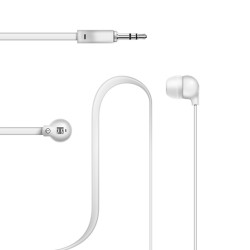 Lexingham Non-Tangle Earphones White L5220 image here